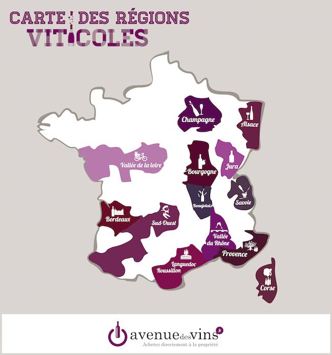 Top Connaissez-vous les principales régions viticoles ? - Avenue des  NK81