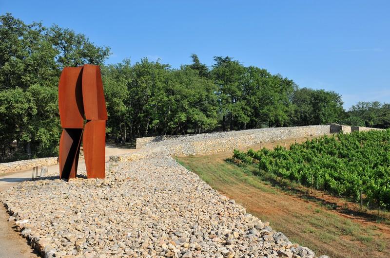 art dans les vignes