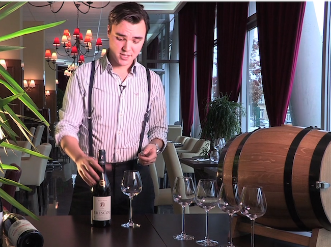 Ouvrir un vin