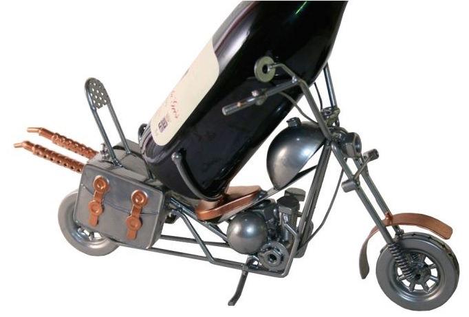 moto-porte-bouteille-metal-forgeron