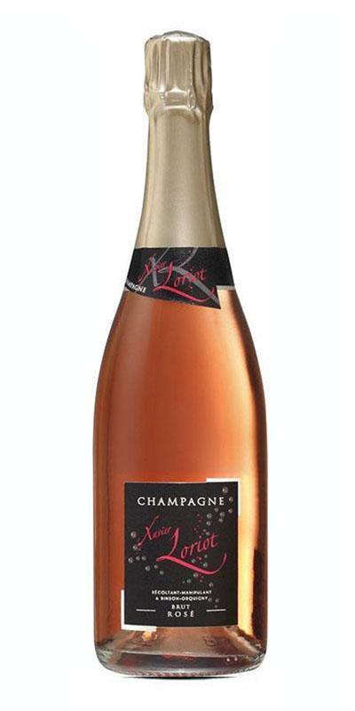 Bouteille de Champagne Xavier Loriot- Champagne Rosé Assemblage -