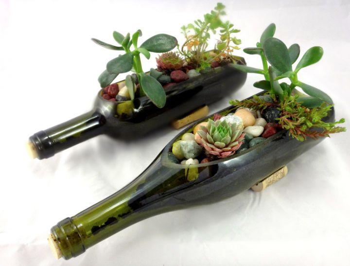 photo-idee-deco-bouteille-vin-pot-fleurs-720x547