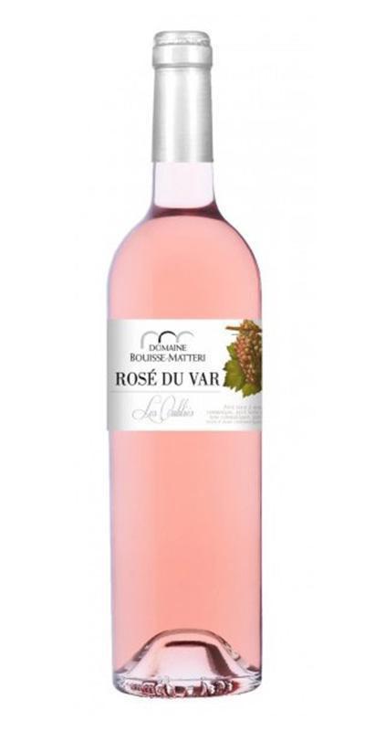 Bouteille de Domaine Bouisse Matteri- Rosé du Var - 2015