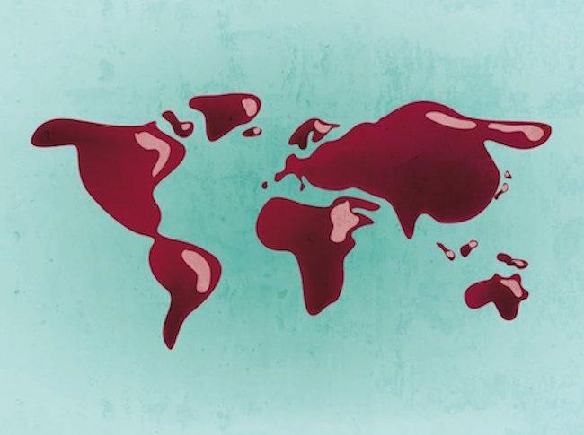 vignobles monde