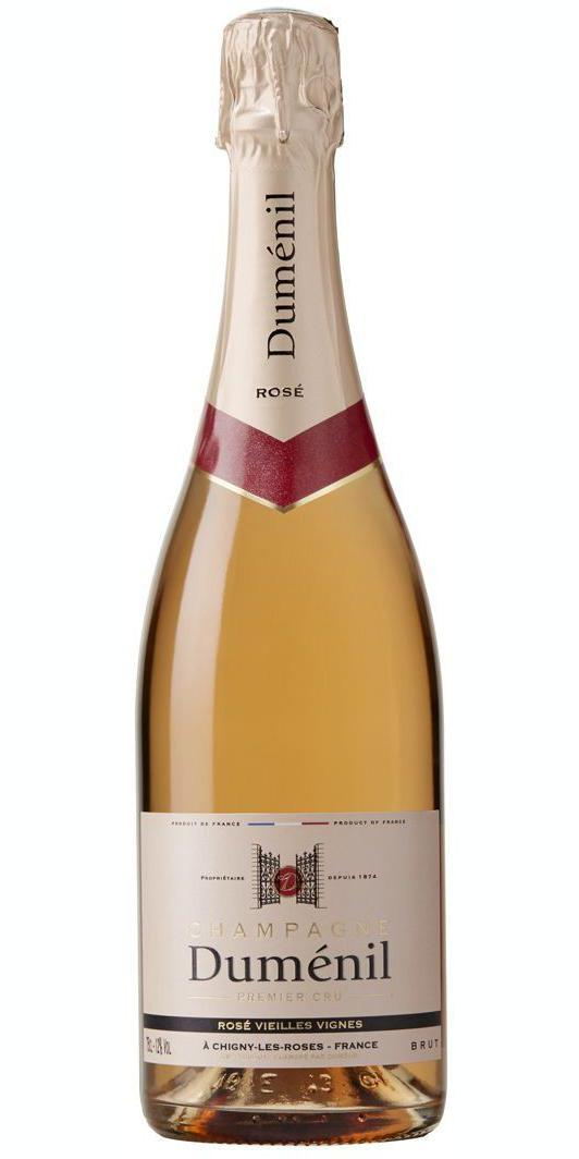 Cuvée Brut Rosé - -Champagne Duménil