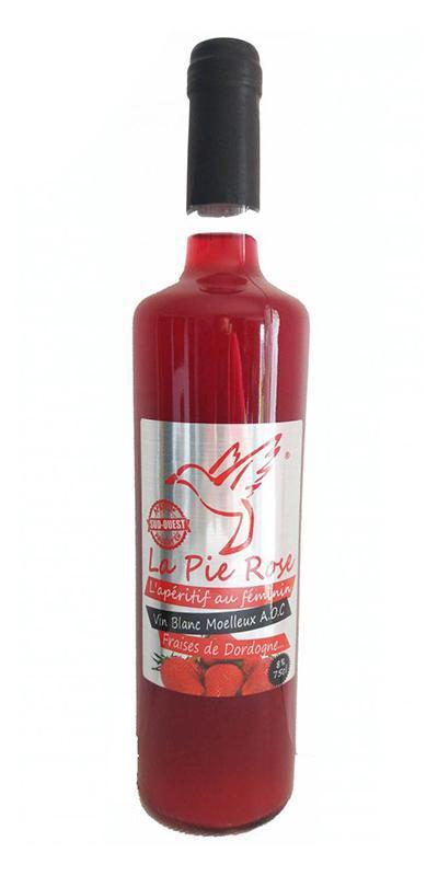 Cuvée Fraises de Dordogne - -La Pie Rose