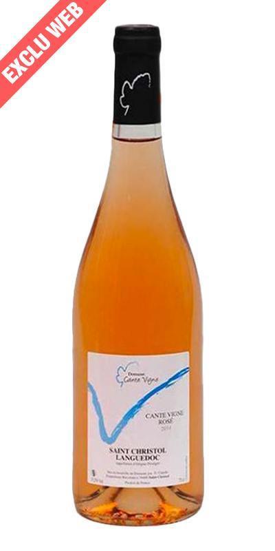 Cuvée Cante Vigne Rosé - 2014-Domaine Cante Vigne