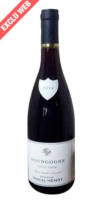 Cuvée Bourgogne Rouge - 2015-Domaine Pascal Henry