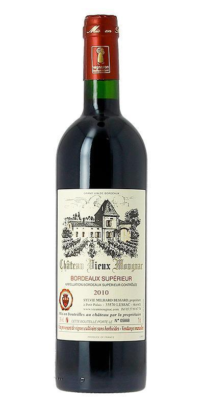 Cuvée Bordeaux Supérieur - 2010-Château Vieux Mougnac