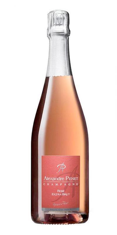 Cuvée Rosé Extra Brut - Assemblage-Maison Penet