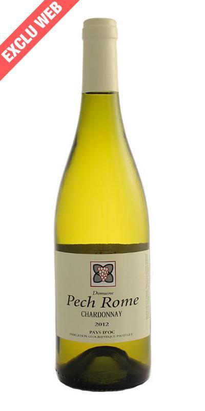 Cuvée Chardonnay - 2013-Domaine Pech Rome