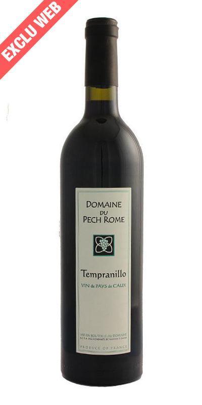 Cuvée Tempranillo - 2012-Domaine Pech Rome