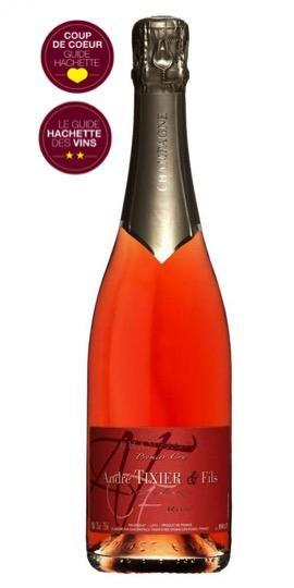 Cuvée Cuvée Brut Rosé - Assemblage-Champagne André Tixier