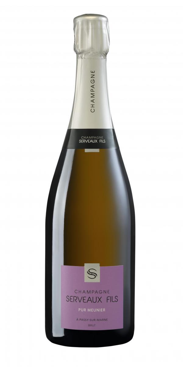 Cuvée Pur Meunier  - Assemblage-Champagne Serveaux Fils