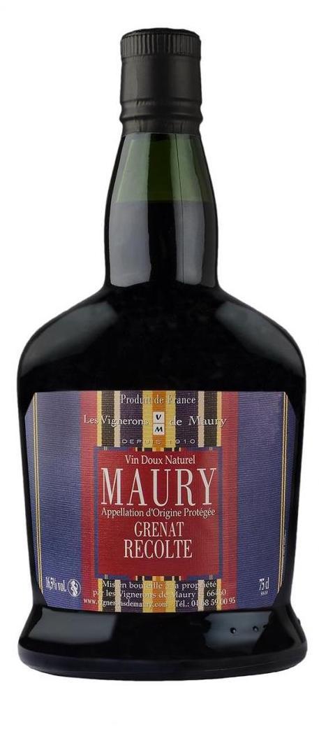 Cuvée Maury Récolte Rouge - 2014-Les Vignerons de Maury