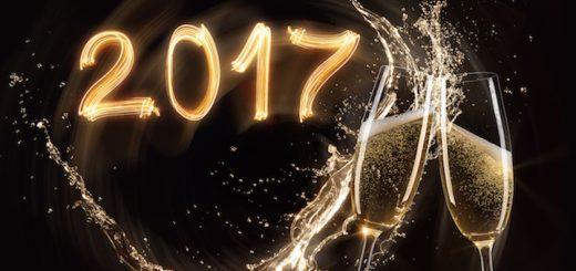 Glasses of champagne with splash, celebration theme.