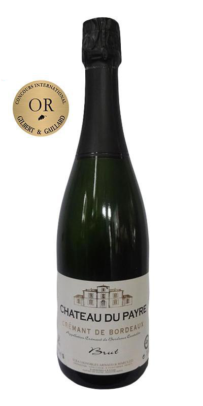 Cuvée Crémant Blanc - Assemblage-Château du Payre