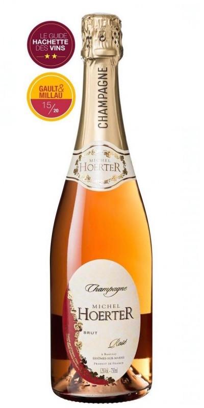 Cuvée Cuvée Brut Rosé - Assemblage-Champagne Michel Hoerter