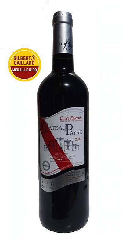Cuvée Cuvée Réservée - 2012-Château du Payre