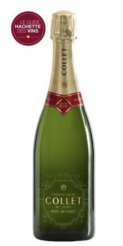 Cuvée Brut Art Déco - -Champagne Collet