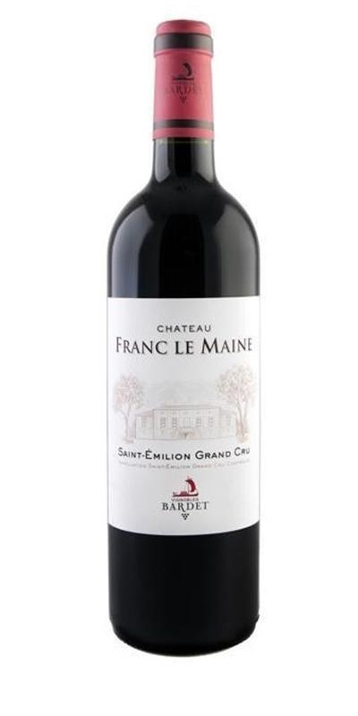 Cuvée Château Franc Le Maine  - 2012-Vignobles Bardet