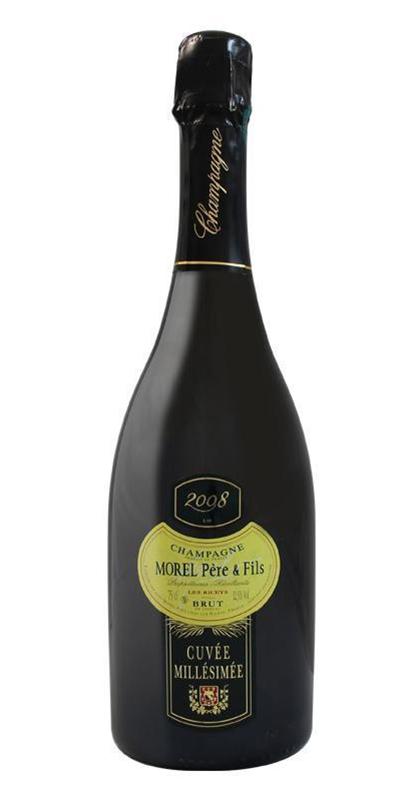 Cuvée Cuvée Millésimée  - 2008-Champagne Morel