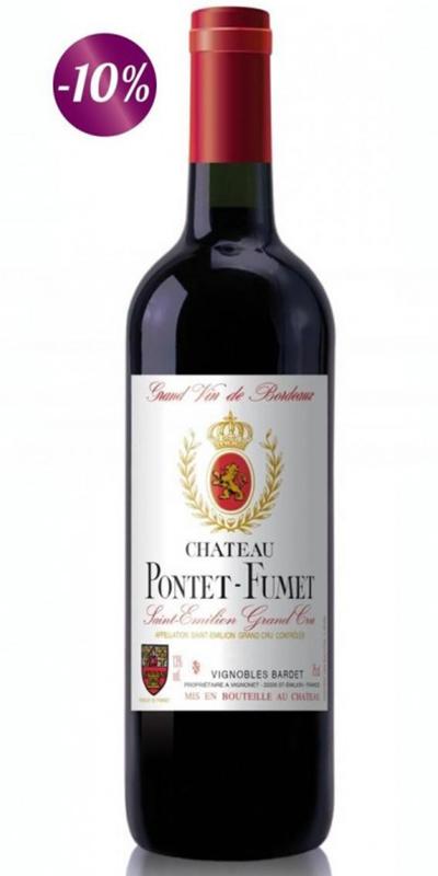 Cuvée Cuvée Château Pontet-Fumet  - 2007-Vignobles Bardet