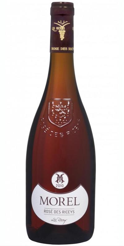 Cuvée Rosé des Riceys - 2010-Champagne Morel
