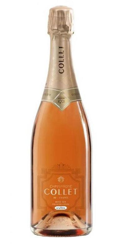 Cuvée Rosé Dry - -Champagne Collet