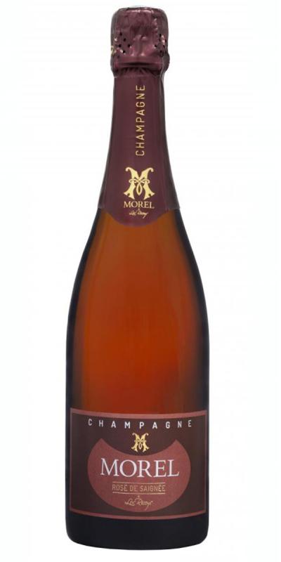 Cuvée Rosé de Cuvaison  - -Champagne Morel